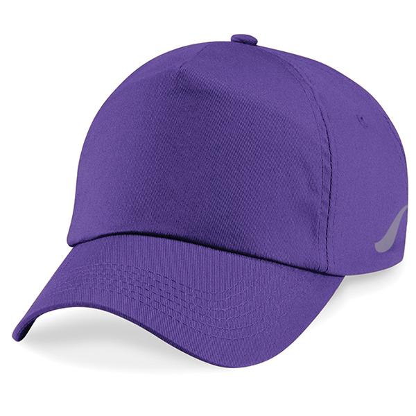 Scorpion Sports Purple Panel Caps