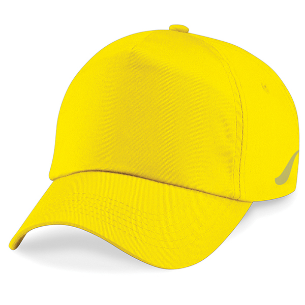Scorpion Sports Yellow Panel Caps