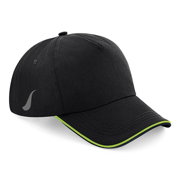 Scorpion Black Lime Sports Cap