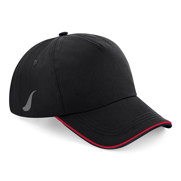 Scorpion Black Red Sports Cap
