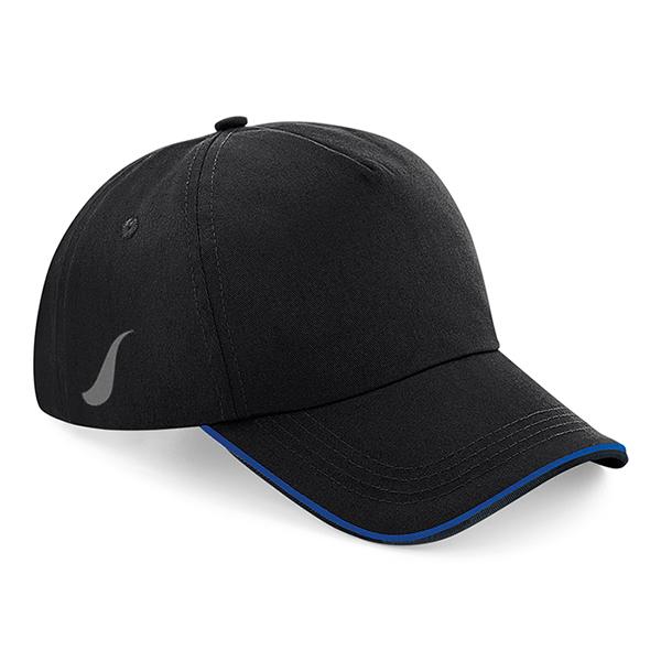Scorpion Black Royal Blue Sports Cap