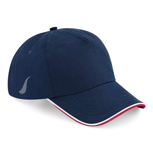 Scorpion Navy White Red Sports Cap