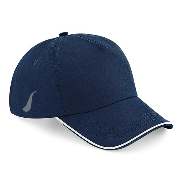Scorpion Navy White Sports Cap