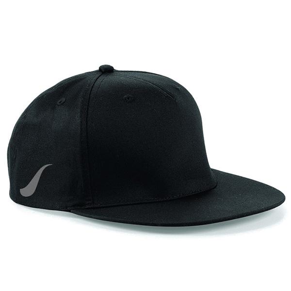 Scorpion Black Snapback Cap