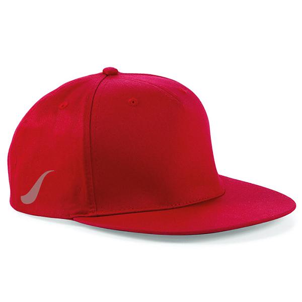 Scorpion Red Snapback Cap