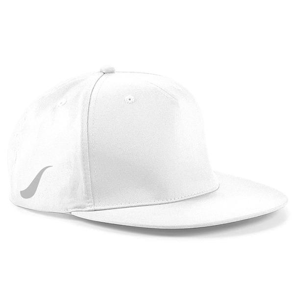 Scorpion White Snapback Cap