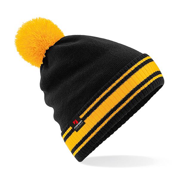 Scorpion Black Amber Bobble Hat