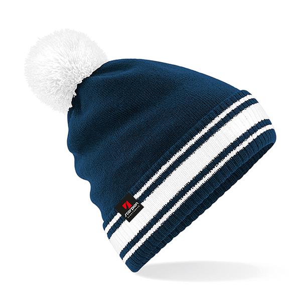 Scorpion Navy White Bobble Hat