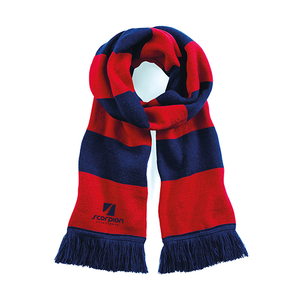 Scorpion Navy Red Scarf