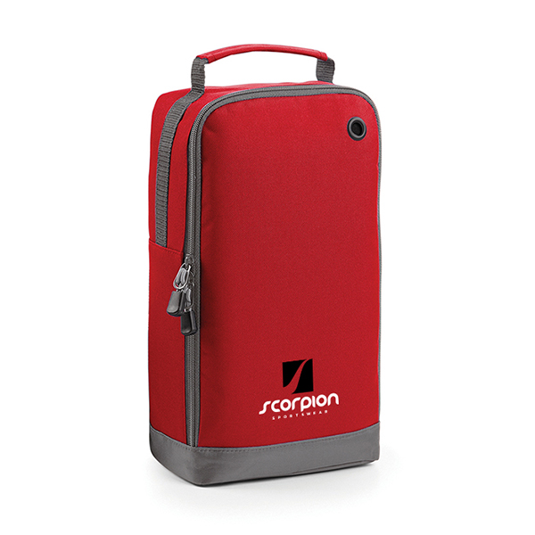 Scorpion Sports Red Boot Bag