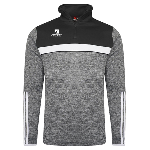 Scorpion Sports Melange Midlayer Black Grey