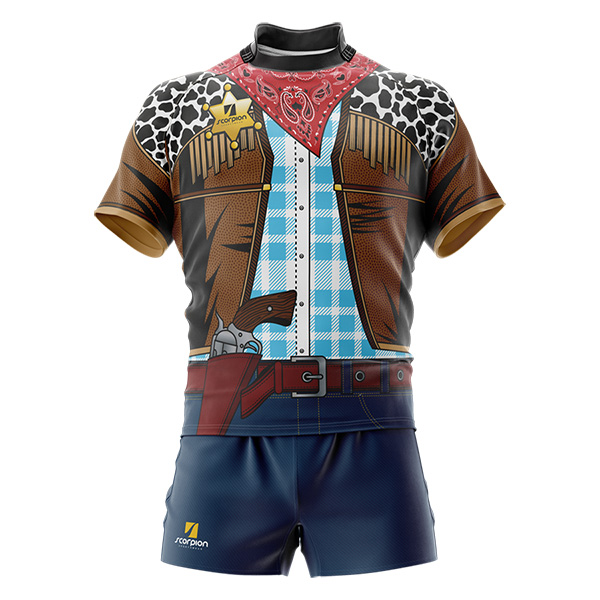 Wild West Rugby Tour Shirt
