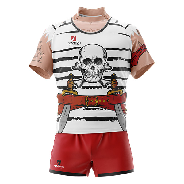Pirate Rugby Tour Shirt