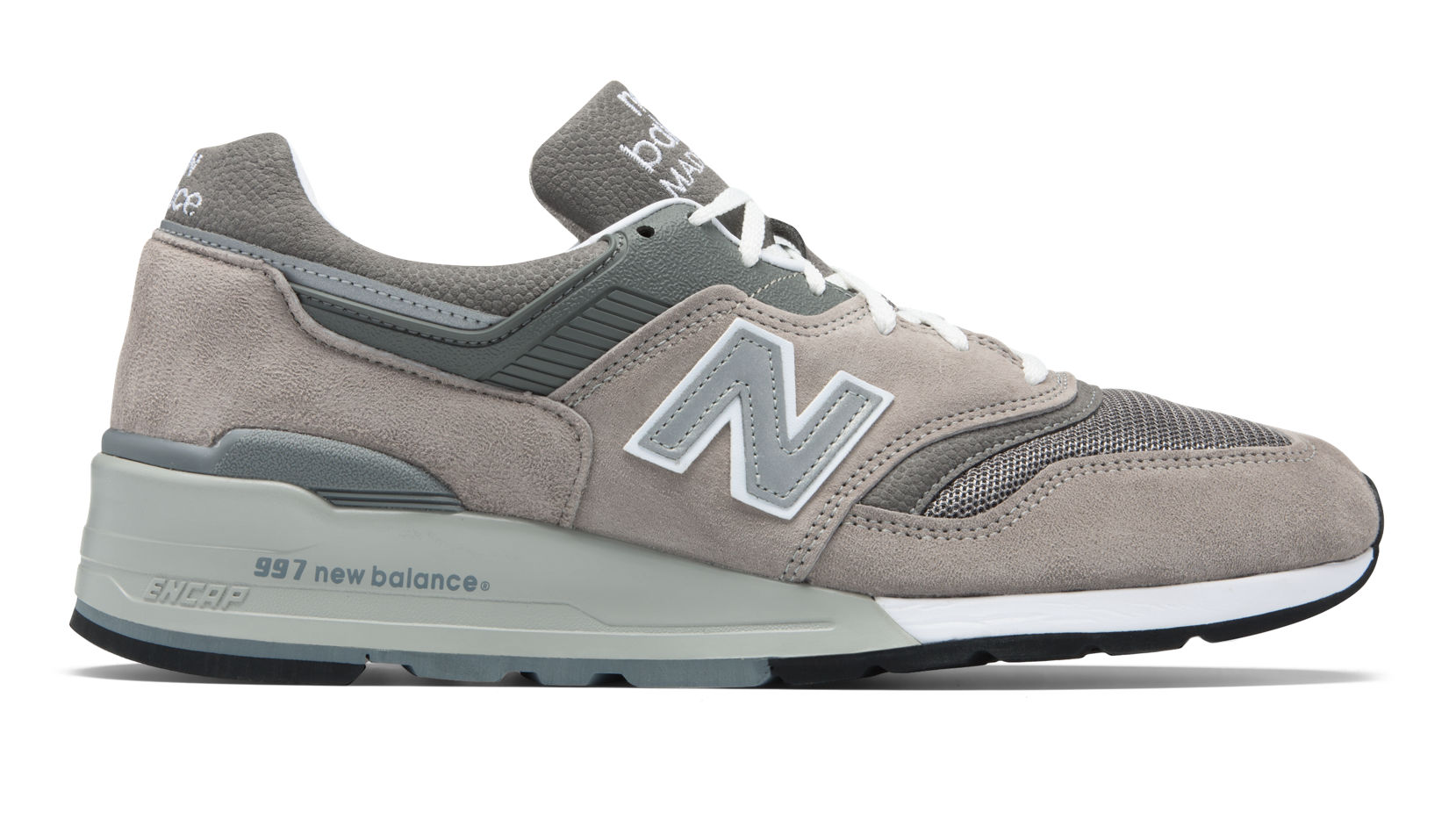 New Balance Made in US 997, M997GY, Grey with White