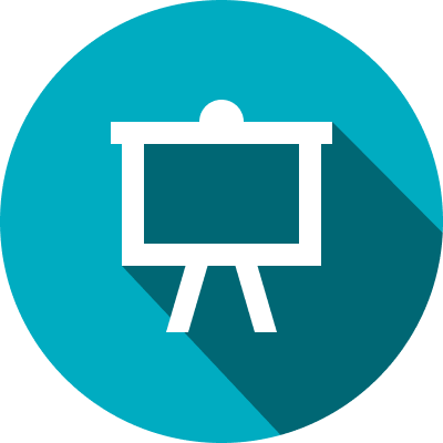 Interactive presentation icon