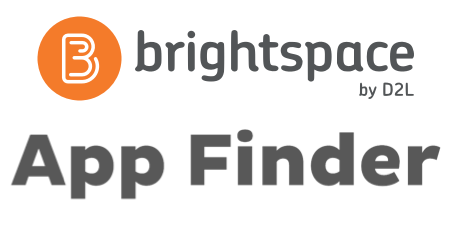 Brightspace and App Finder logo