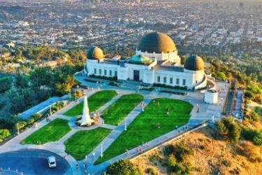 Griffith Park Aerial View
