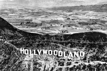 Old image of Hollywoodland