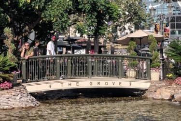 The Grove's bridge