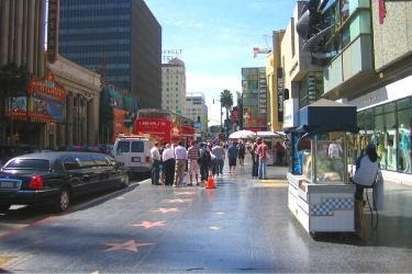 Walk of Fame - Hollywood Boulevard