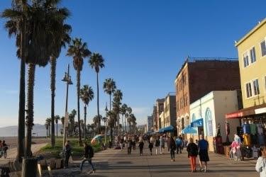Streets at Venice Beach
