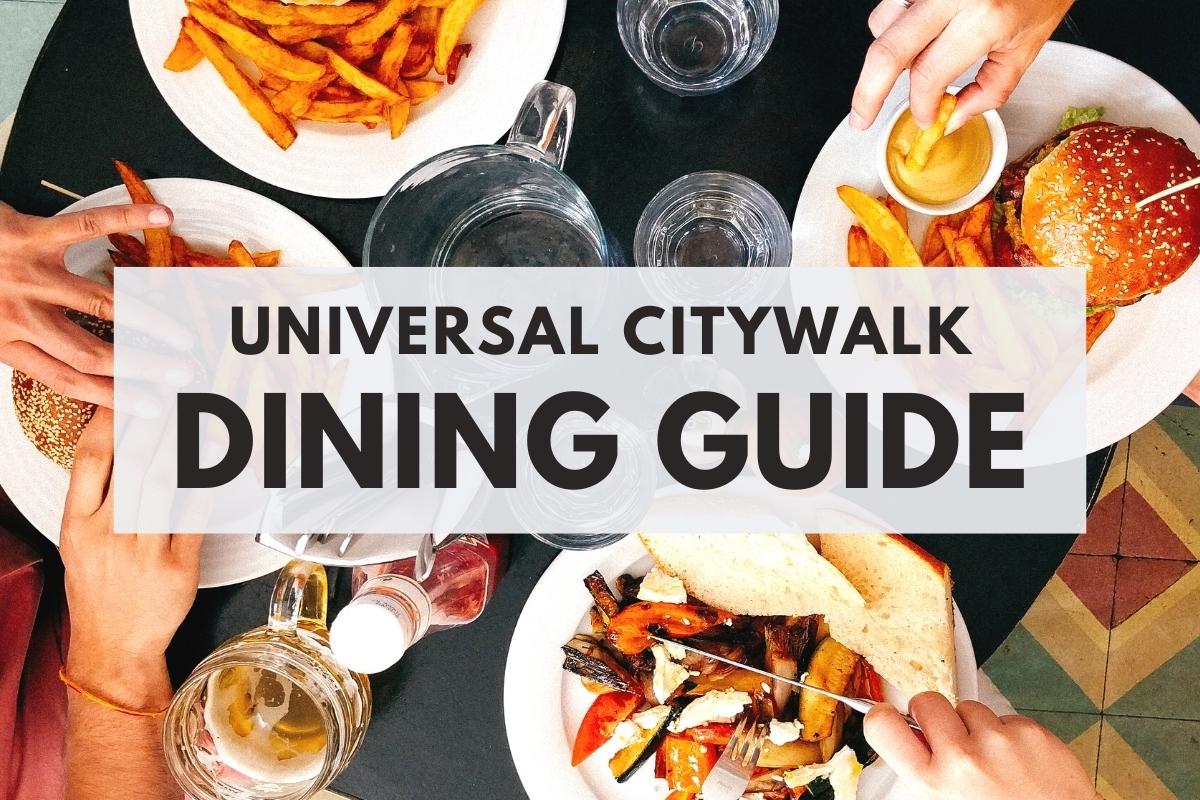 Universal CityWalk Dining Guide