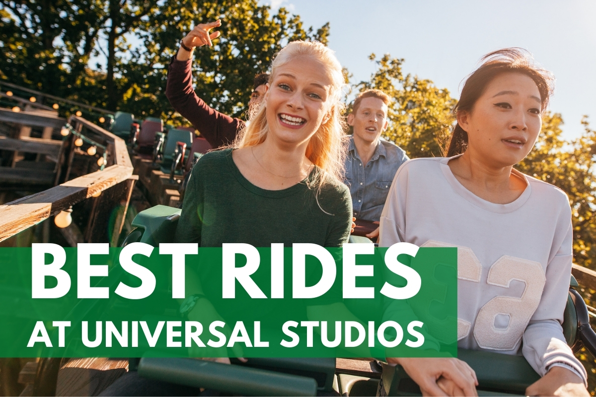 People on a rollercoaster ride - Best Rides at Universal Studios