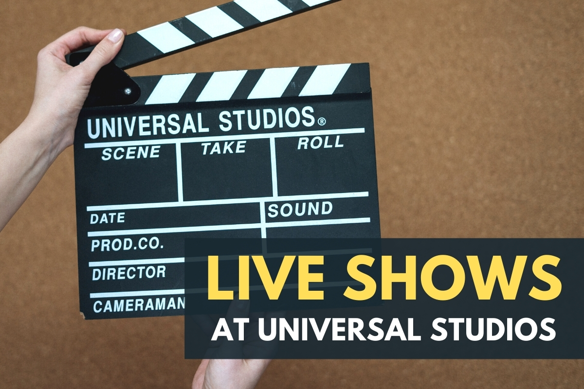 Live Shows at Universal Studios