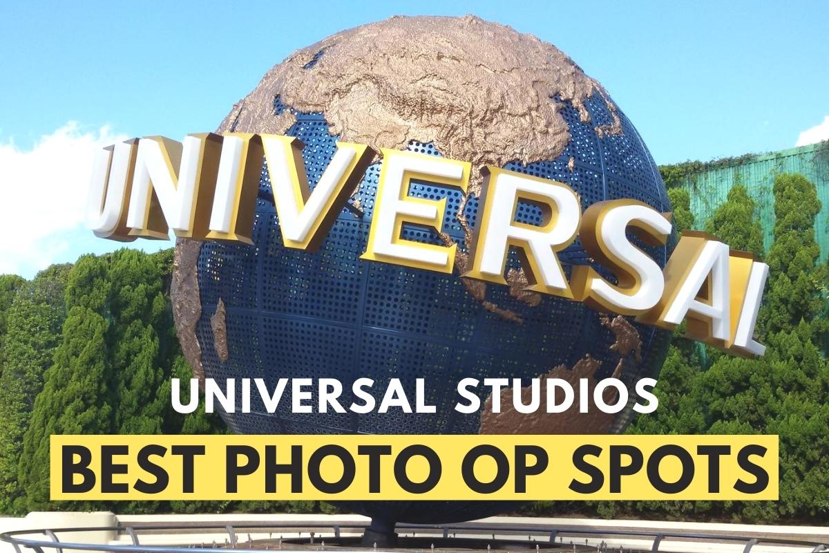 Universal Studios Globe - Universal Studios Best Photo Op Spots