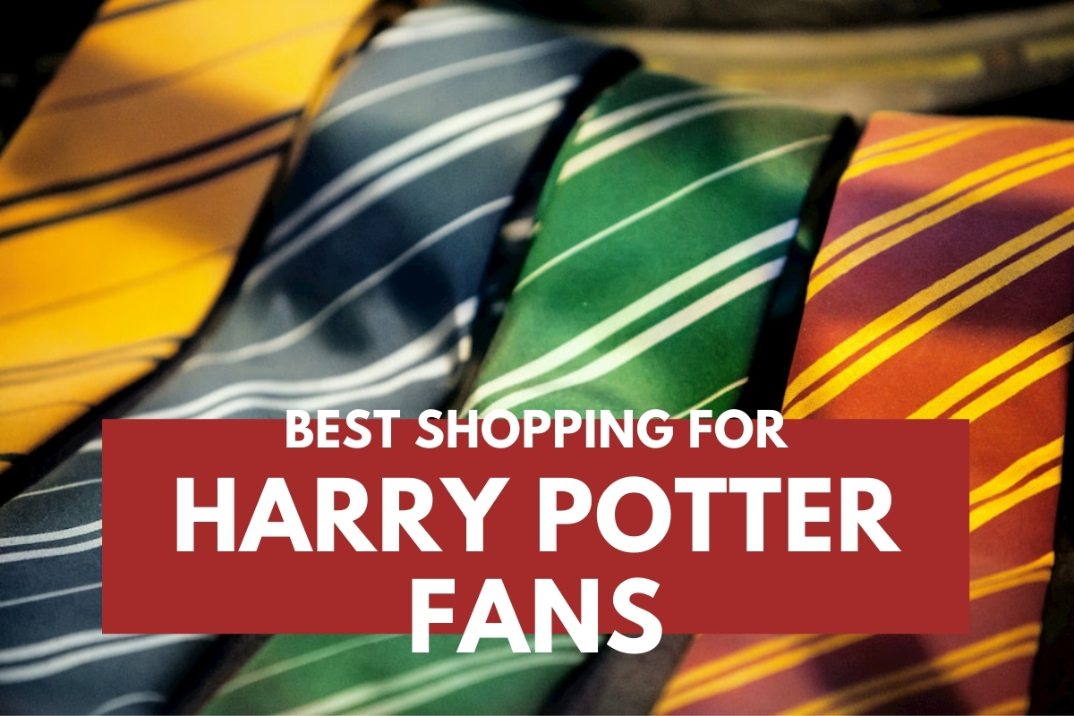 Harry Potter's House Themed Neckties - Best Shopping for Harry Potter Fans