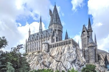 Harry Potter's Hogwarts castle
