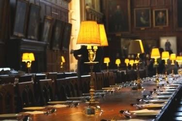 Inside the Hogwarts castle