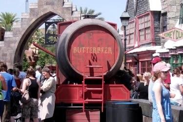 Butterbeer Tank on Hogsmeade