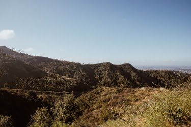 Brush Canyon Trail View