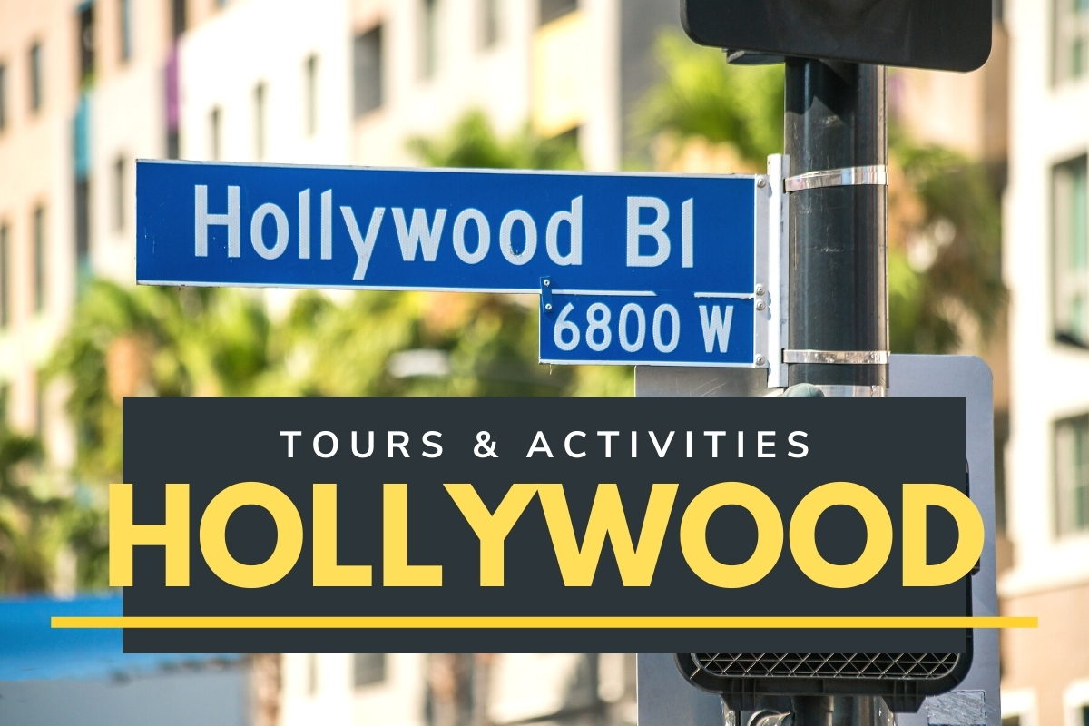 Hollywood Boulevard Street Sign - Tours & Activities Hollywood