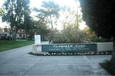 Plummer Park Entrance