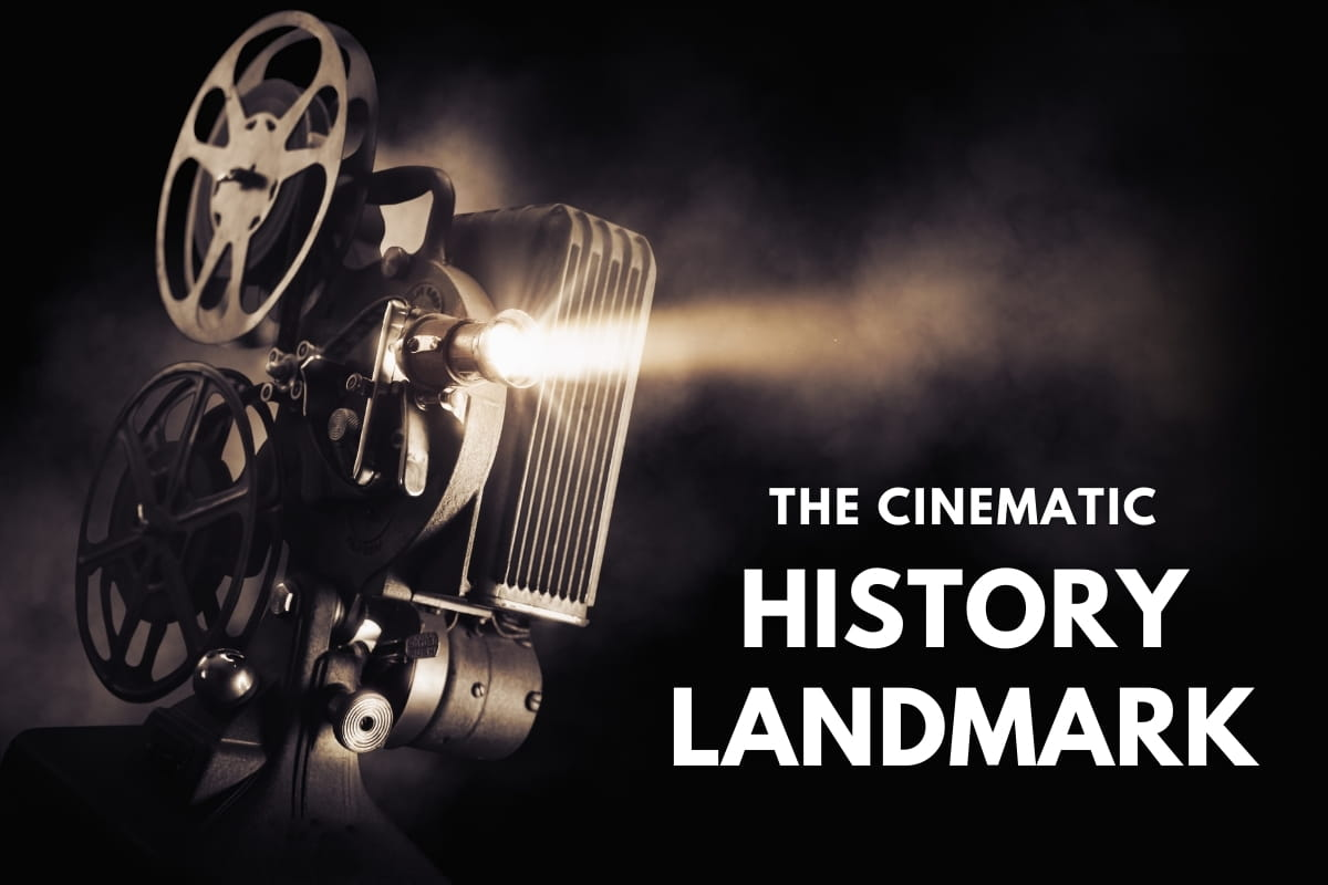 Old movie machine - The Cinematic Historic Landmark