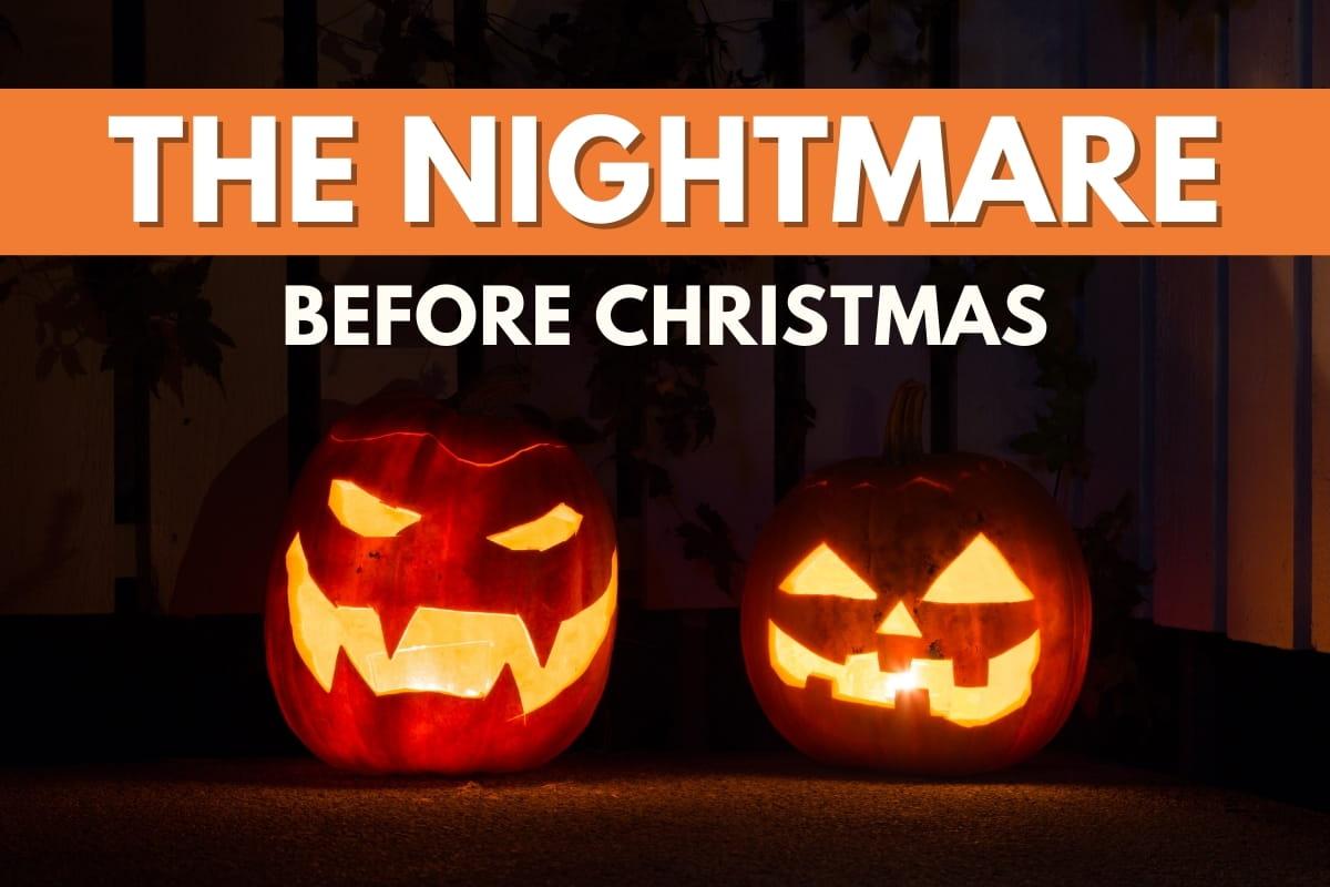 Pumpkin lanterns - The Nightmare Before Christmas