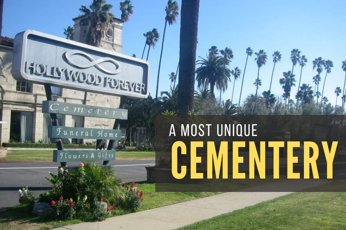 Hollywood Forever Sign - A Unique Cementery
