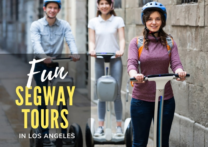 People touring in Segways - Fun Segway Tours in Los Angeles