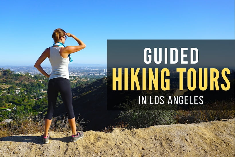 Woman hiking in Los Angeles - Guided Hiking Tours in Los Angeles