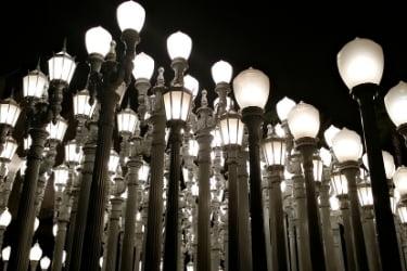 Urban Light at LACMA
