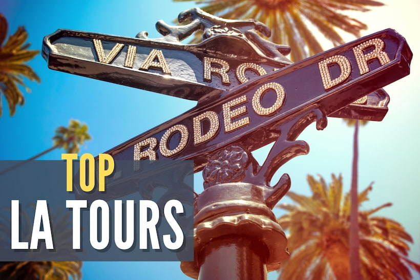 Beverly Hills, Rodeo Drive Sign - Top LA Tours