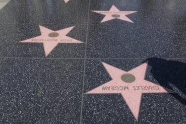 Hollywood Walk of Fame stars