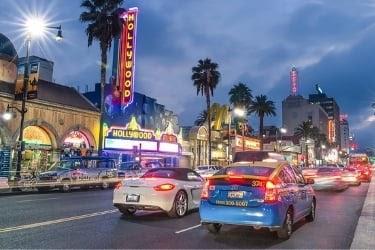 Sunset Strip at Night