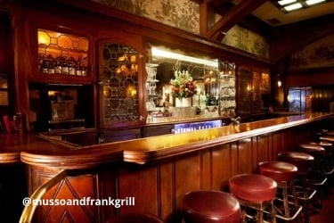 Bar inside Musso and Frank Grill