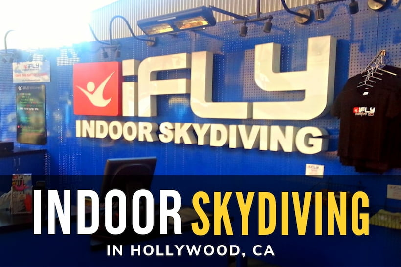 Indoor Skydiving in Hollywood, CA - iFly Indoor Skydiving