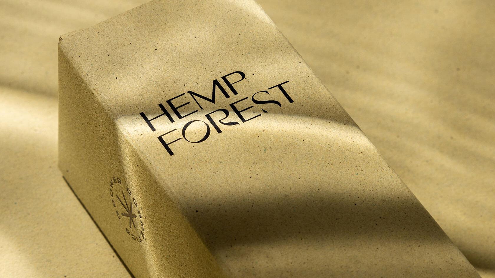 Упаковка масла для тебя Гровер, из переработанной экологичной бумаги