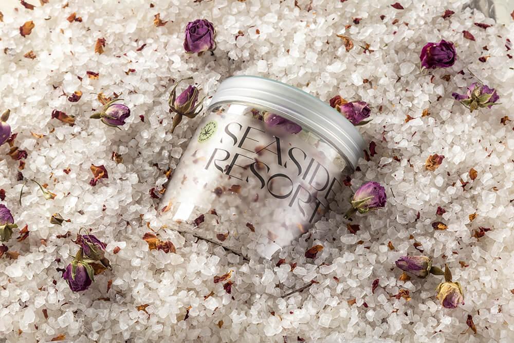 Арома-соль Гровер с бутонами розы, на основе конопляного масла