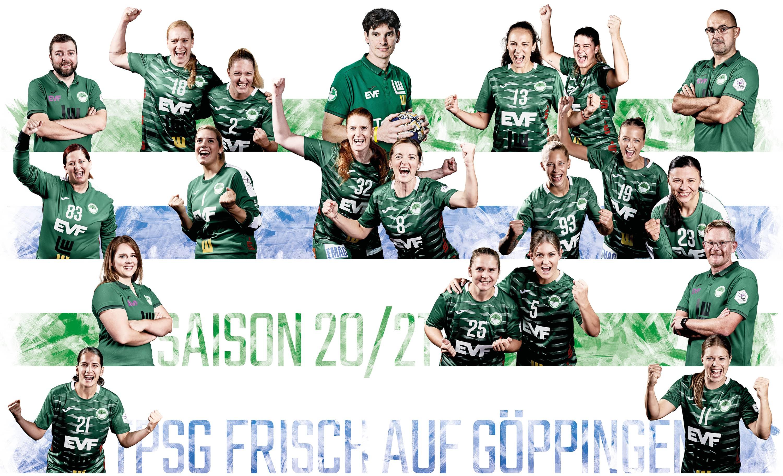 Frisch auf Frauen Saison 2020 2021 Mannschaft Handball